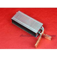 China Progressive Die Stamping Copper Pipe Heat Sink With Aluminum Enclosure wholesale