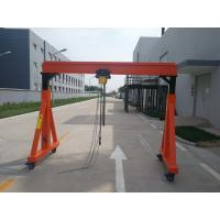 China A Frame Type Mobile Jib Crane Huge Lifting High Efficiency Easy Operation wholesale