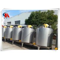 China 400L Stainless Steel Tanks Square High Shear Emulsifying Tank In Production Line wholesale