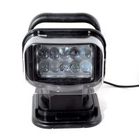 China 50W  4000lumens 12DV Cree LED Marine Remote Control Spotlight Offroad Truck Car Boat Search Light wholesale
