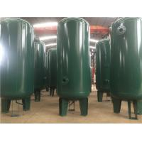 China 40 - 120 Gallon 10 Bar Air Compressor Receiver Tank With Double Sided Welding wholesale