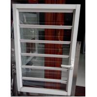 Quality Bathrooms Venetian Horizontal Glass Shutter Window Blinds With Single Tempered Glass for sale