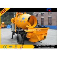China Mini Hydraulic Concrete Mixer , Self Loading Concrete Mixer Double Axle wholesale