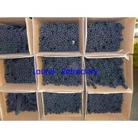 China Black Plastic Rubber Foam Insulation Tubes For Air Duct And Hot Water Pipeline on sale