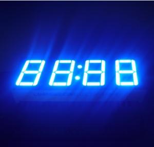 "China Ultra Blue LED Clock Display 0.56""  , Led 7 Segment Display 50.4*19*8MM wholesale"