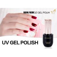 China 10ml 15ml 30ml UV LED Gel Nail Polish For Uv Light Eco Friendly Sample Provided wholesale