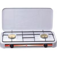 China White Coating Cooking Kitchen Gas Burner FJ-002SB with Brass Cover wholesale