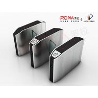 Buy cheap Indoor Automatic Flap Barrier Gate Self Checking For Intelligent Office Building from wholesalers