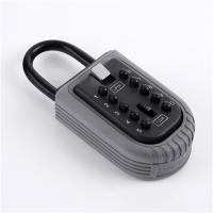 Heavy Duty Car Knob Portable Key Lock Box With Combination Access