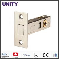 China 60 Backset French Door Latches Hardware Stainless Steel Forend wholesale