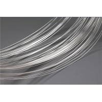 China Soft Silver Plated Wire For Electrical Contacts / Nickel Plated Wire High Arc Erosion Resistance wholesale