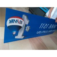 China Indoor Custom Sign Boards Shape Cutting For Informational Signage / Menu Boards wholesale