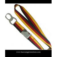 China High Quality Custom silk-screen printing mix colorful Woven Polyester Lanyard wholesale