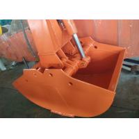 China Hitachi ZX200-3 Excavator Grab Bucket / Clamshell Grapple Available Various Width wholesale