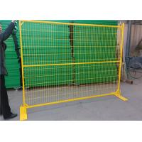 China 6ft Canada Construction Fence Panels Powder Coated Temporary Mesh Fence on sale