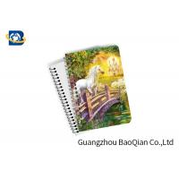 China Unicorn Design Depth Effect A4 A5 A6 3D Lenticular Notebook For Student Stationery Eco-friendly wholesale