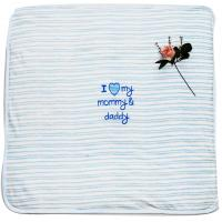 China Eco Friendly Embroidered Baby Blankets Kids Garments With Fibre Padding wholesale