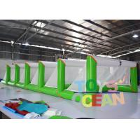 Quality Hot Summer Inflatable Floating Volleyball Water Polo Goal Durable PVC Water for sale