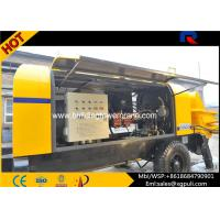 China 6500Kg Weight Diesel Concrete Pump Machine Double Circuit Opening System wholesale