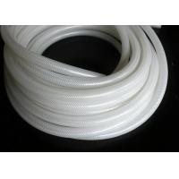 China Polyester Braid Silicone Rubber Tubing , Flexible Silicone Hose Food Grade Without Smell wholesale