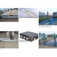 80 Ton Electronic Lorry Weighbridge LED Display Type Automatic Reset Force Transmission System