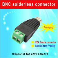 China CAT5 To Camera CCTV Video AV Balun RCA female jack Connector,Environment friendly terminal cctv camera accessory wholesale