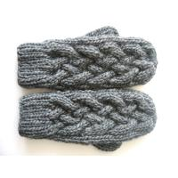 China Hand Knit Gloves, Crochet Mittens, Hiss Knitted Mittens wholesale