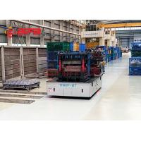 China Custom Omnidirectional Industrial Steerable Agv Transfer Car Automated Guided Vehicle on sale