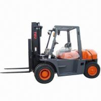 China Diesel Forklift Truck, Rated Load Capacity of 6000kg, Load Center of 600mm  wholesale