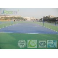 China All Weather Acrylic Sports Flooring , Self Leveling Rubber Sports Flooring wholesale