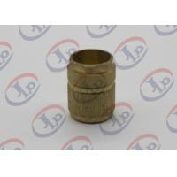 China Injection Plastic Nuts Metal Machined PartsLathe Turning Knurling Brass Components wholesale