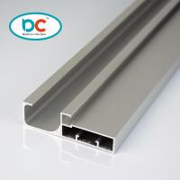 China 6000 series glossy aluminum kitchen profile for 4mm glass with gasket wholesale