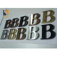 China 3D Architectural - grade Stainless Steel Letters For Wall Shop Signs wholesale