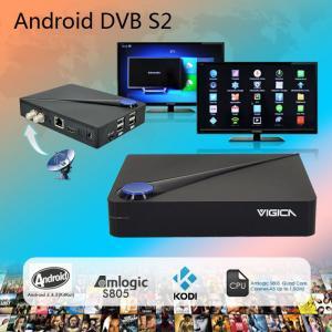 China high quanlity dvb s2 set top box hd satellite receiver dvb-s2 android 4.0 smart tv box on sale