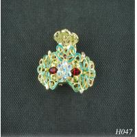China Children's Jeweled Hair Accessories Hairpin Artificial Jewelry with Rhinestone for Gift wholesale