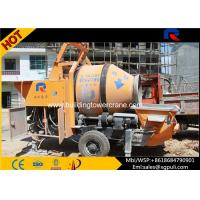 Quality Concrete Mobile Mixer Outlet Pressure 7Mpa Wireless Remote Control for sale