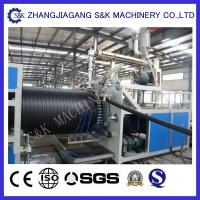 China Small Diameter PVC Pipe Extrusion Machine 1200Mm Length CE / SGS / ISO on sale
