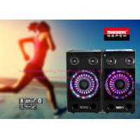 China Portable Bluetooth Amplifier Speakers GT Input With LED Light wholesale