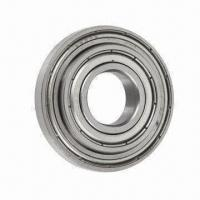 China Deep Groove Ball Bearing, ZZ, 2RS, Open, NR and 2RSL Types are Available wholesale
