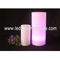 China Color Changed Glowing LED Pillars / Roman Columns For Wedding and Party  Decoration wholesale