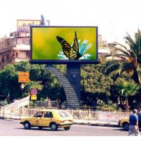 China High Definition P20mm Outdoor Advertising LED Display / Outdoor Screens wholesale
