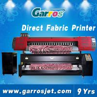 China 6 feet large direct to garment printer for 100% polyester fabrics Garros TX180D wholesale