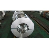China Regular Spangle 30mm to 400mm Hot Dipped Galvanized Steel Strip with Z10 / Z27 Zinc Coating wholesale