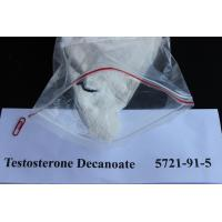 China Injectable Testosterone Steroids / Testosterone Decanoate Raw Steroid Powders 5721-91-5 To Gain Weight wholesale