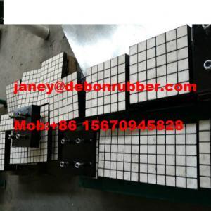 China High Wear resistant composite polyurethane ceramic rubber wear liner wholesale