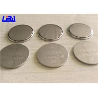 China Retailed Blister Pack Button Coin Cell Battery , Light Weight Cr2016 Lithium Battery wholesale