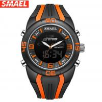 Buy cheap Wholesale Smael Multifunction Silicone Band Chronograph Dual Time Chime Sport from wholesalers