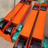 China 5Ton 10 Ton 15 Ton Overhead Crane End Beam End Carriage With Gear Motor wholesale