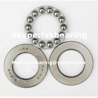 Quality Certificated F3-6M , F4-10 Miniature Thrust Ball Bearings Steel Cage / Brass Cage for sale