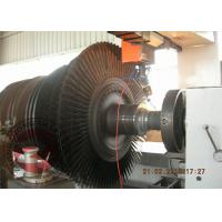 Quality Low Pressure 70T Steam Turbine Rotor Forging / Heavy Steel Forged Turbine Axle for sale